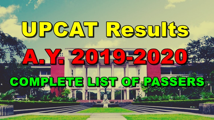 UPCAT Results