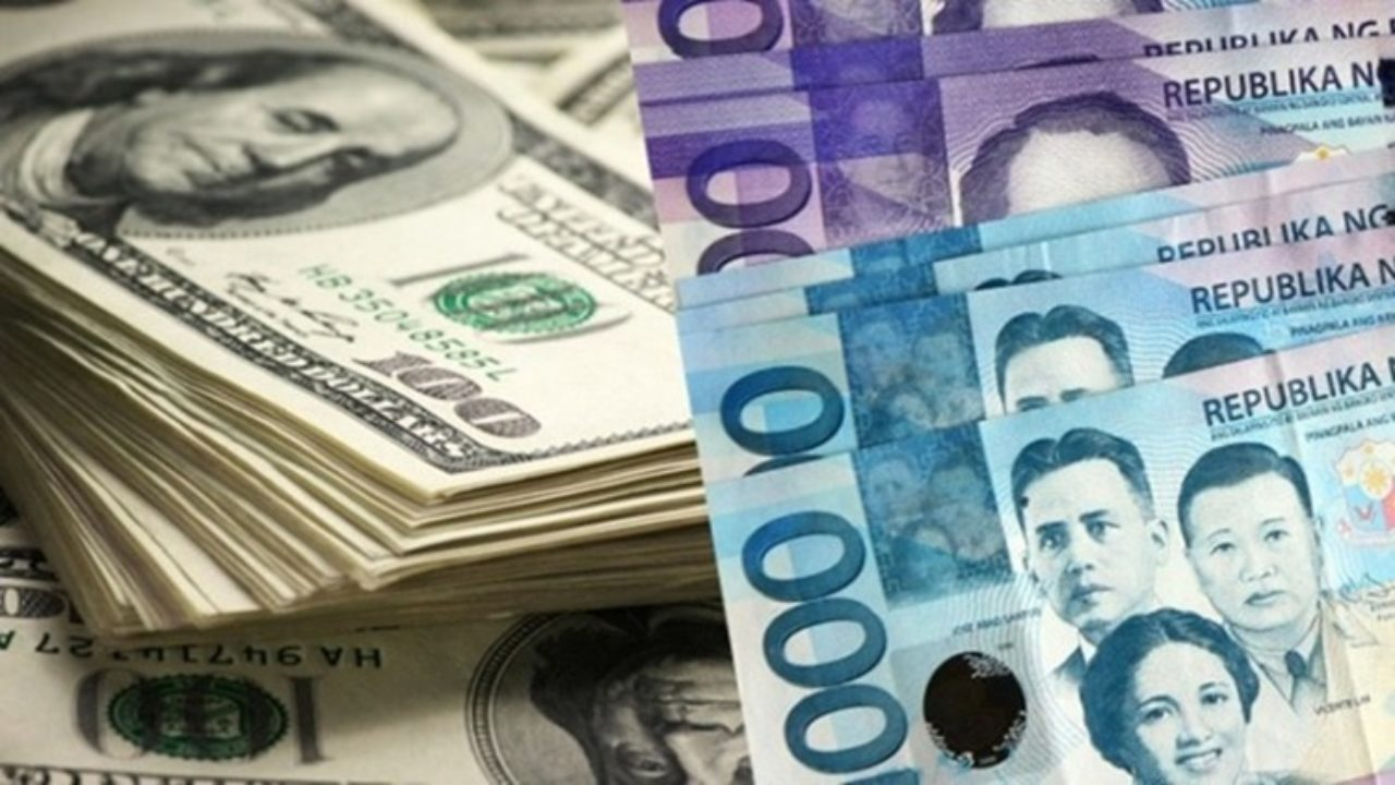 Us Dollar Philippine Peso Exchange Rate Today March 27 2019