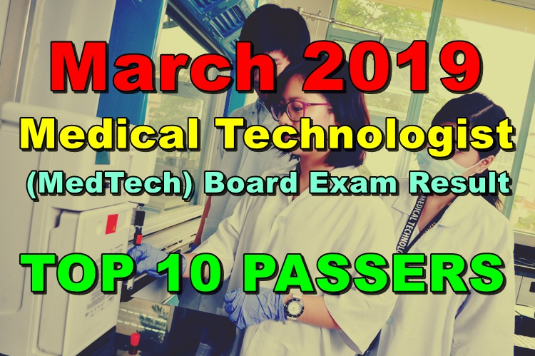MedTech Board Exam Result