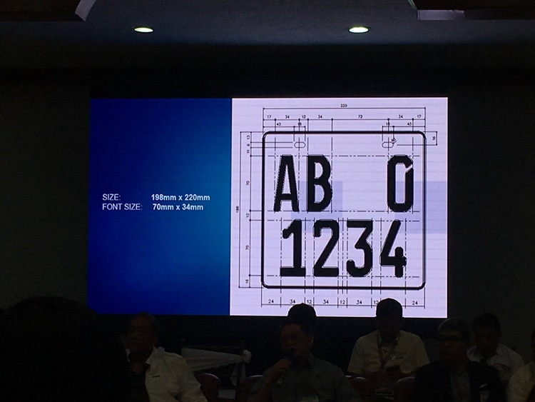 Controversial New Motorcycle Plates