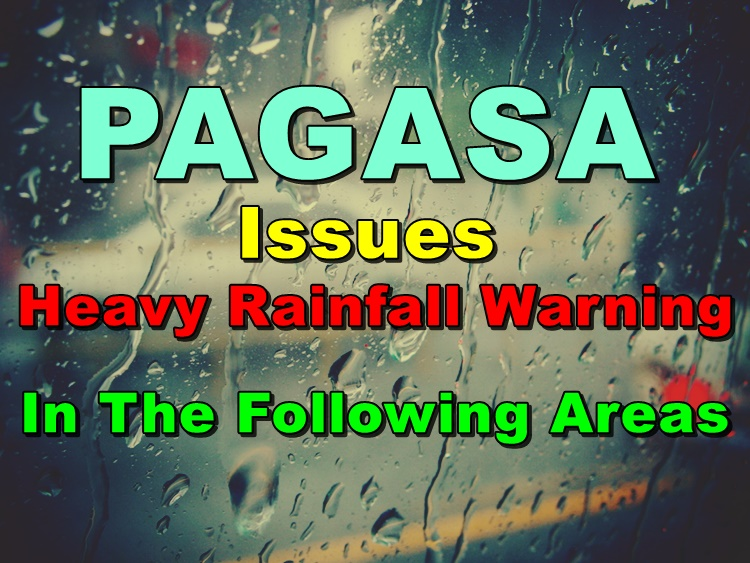 Heavy Rainfall Warning