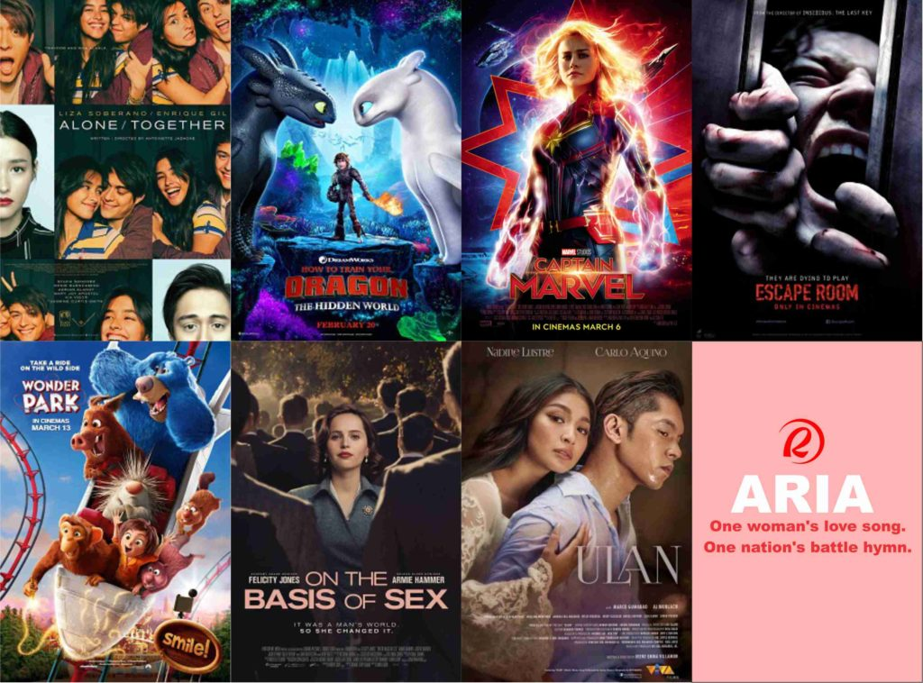 Robinsons Movieworld March 16, 2019