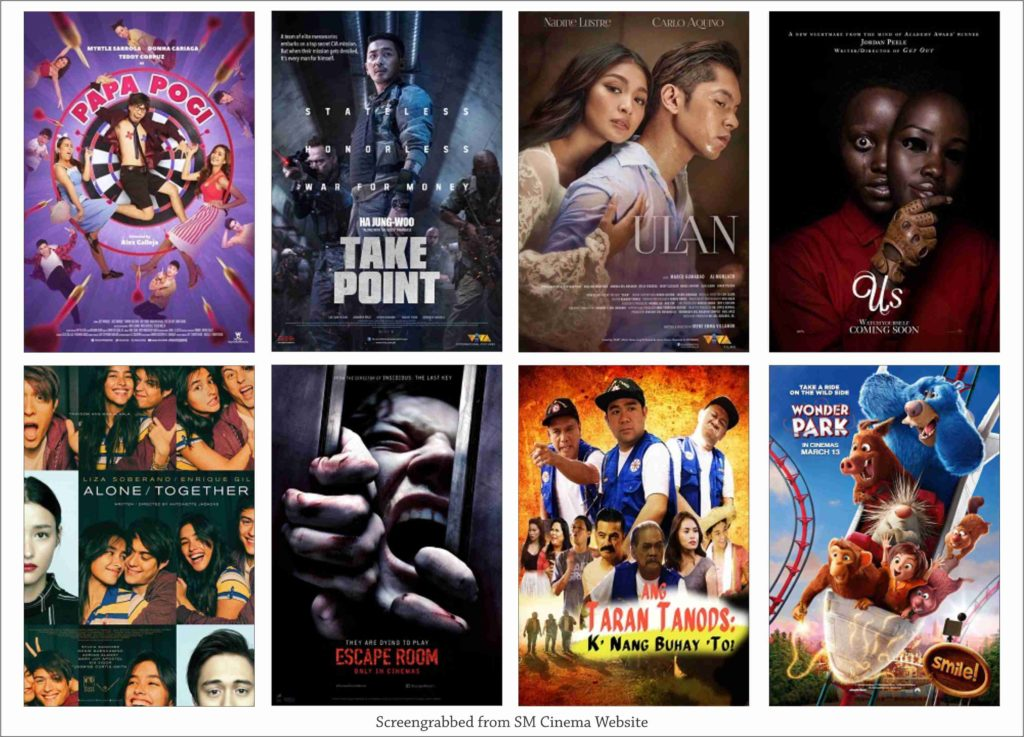 SM Cinema Showing Movies Today March 23, 2019