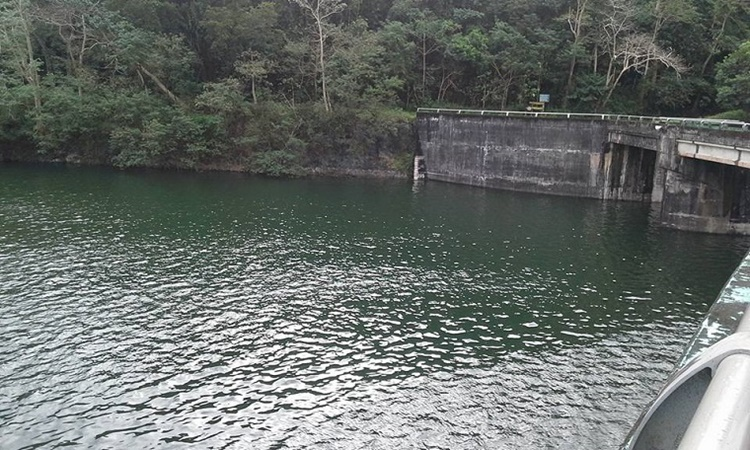 water levels in dams