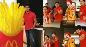 Alden Richards McDo Franchise Opening Attended By GMA Executives