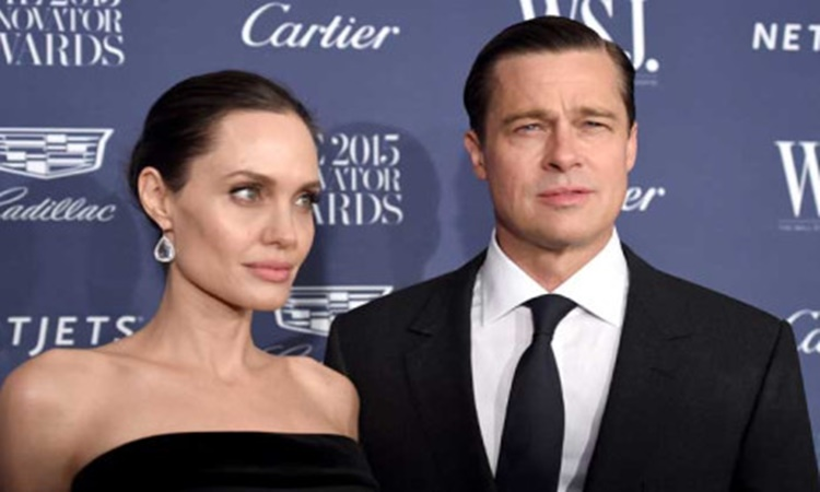 Angelina Jolie and Brad Pitt 1