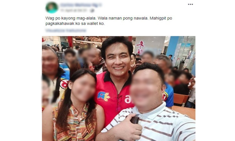 Bong Revilla and netizen
