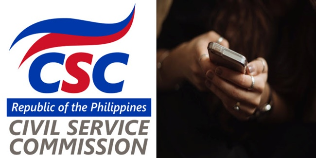 CSC Commission to ban cellphones