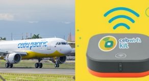 Cebu Pacific Offers Wifi Kit Rental For International Flight Passengers