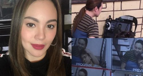 Claudine Barretto MMK Taping