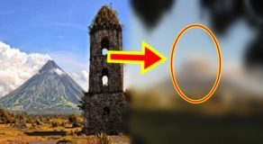 Mayon Volcano Crowned With 'Salakot-Like' Clouds Goes Viral