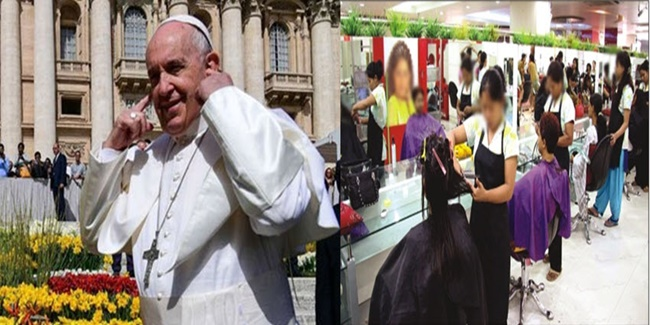 Pope Francis in Vatican 2