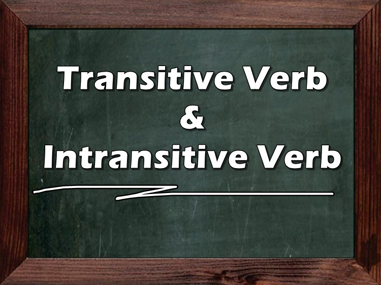 Transitive Verb & Intransitive Verb