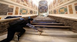 Vatican Reveals Holy Stairs After 300 Years