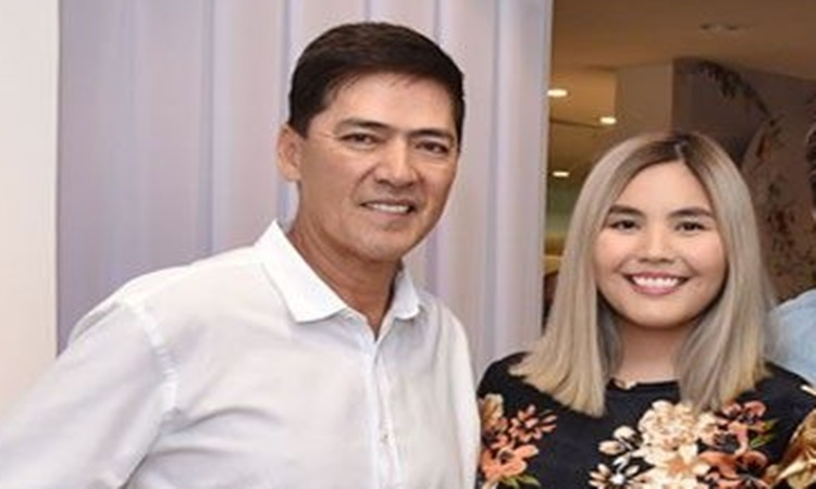 Vic Sotto and Paulina luz