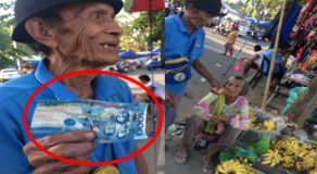 Old Banana Vendor Receives Fake P1000 Bill From Wicked Customer