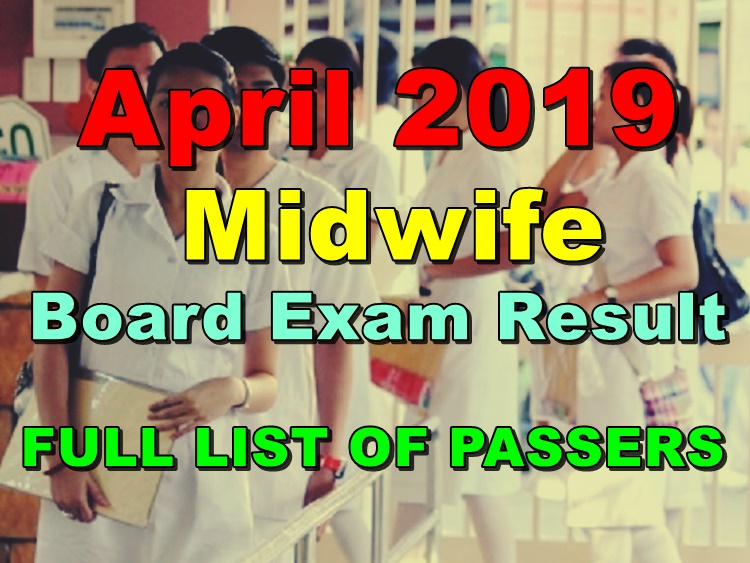 Midwife Board Exam Result