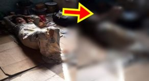 PHOTO: Old Woman Lives Alone, Asks For Food, Medicine From Neighbors