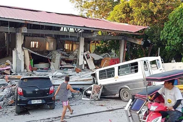 Luzon Quake Casualties