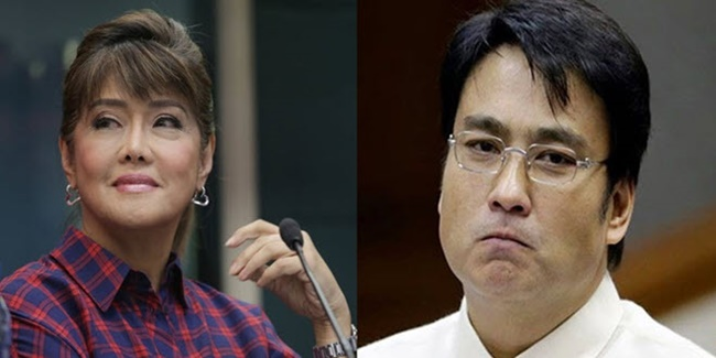 Bong Revilla and Imee Marcos 1