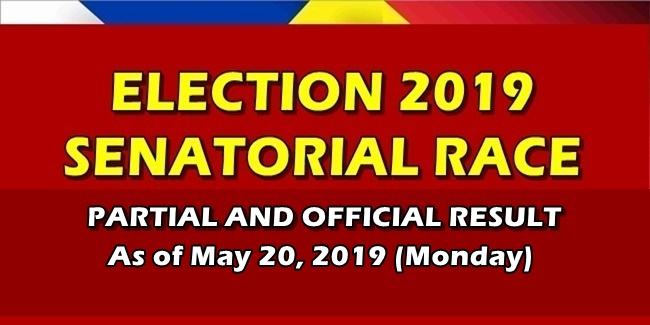 Comelec Election 2019 Partial Official Result Senatorial Race