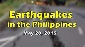 EARTHQUAKES: List of Quakes that Rocked Philippines Today (May 20)