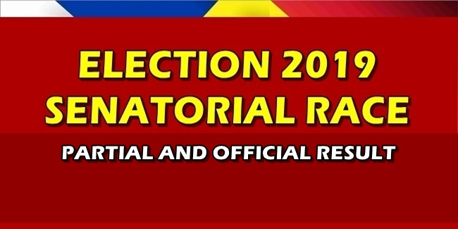 Election 2019 Partial Official Result Senatorial Race