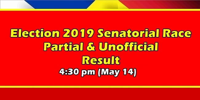 Election 2019 Partial Unofficial Result