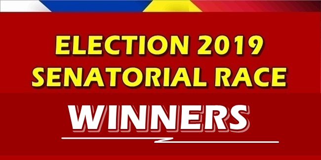 Election 2019 Senatorial Race Winners