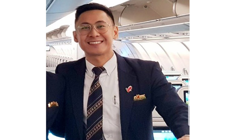 Filipino Flight Attendant John Paul Reyes 1