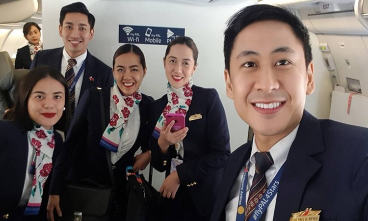 Filipino Flight Attendant