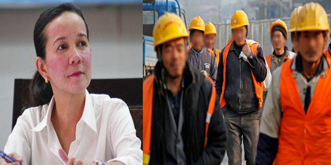 Grace poe on Foreign workers