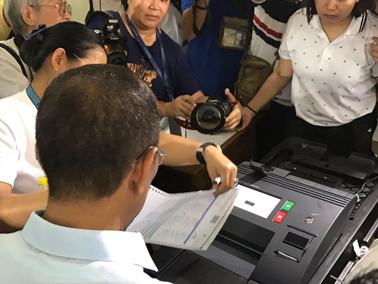 Vote Counting Machine
