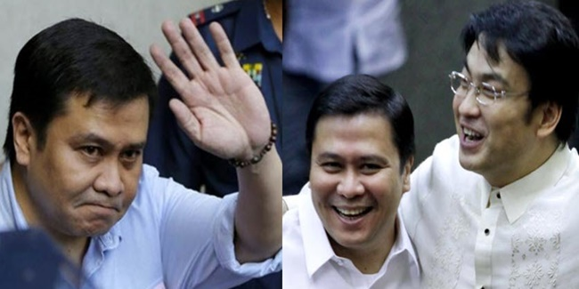 Jinggoy Estrada and Bong Revilla