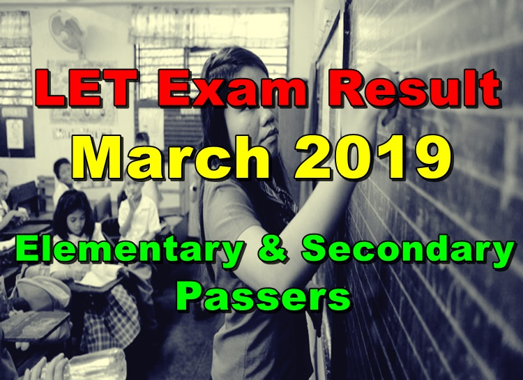 LET Exam Result