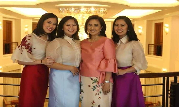 Leni-Robredo-Daughters