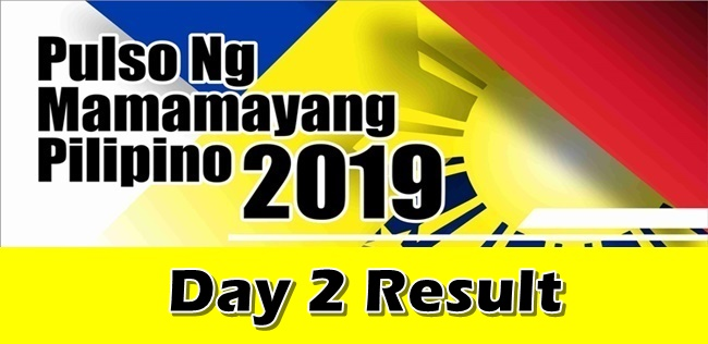 Magdalo Leads Party-List Survey Result Day 2