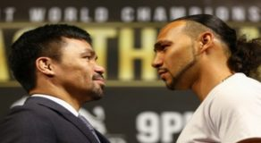 Pacquiao VS Thurman: Manny Will Face A 'Hungry, Young Lion'