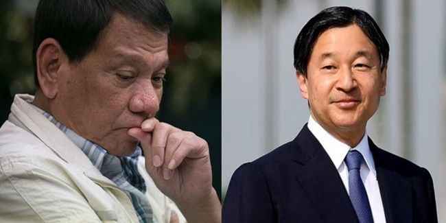 President Duterte and Naruhito