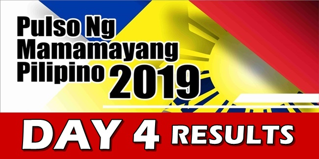 Senatorial Survey Live Polling Results dAY 4