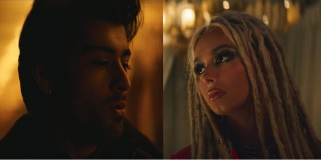Zayn Malik and Zhavia Ward 1
