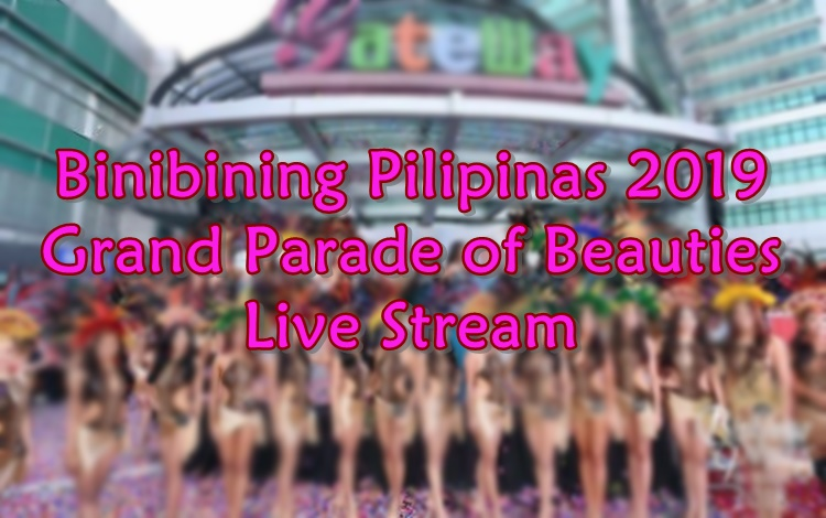 binibining pilipinas 2019 grand parade of beauties