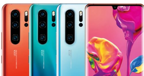 Huawei P30 series lower prices