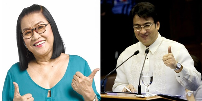 lolit solis post on Bong Revilla win