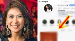 Sarah Geronimo's One Post Left On Instagram Sparks Speculations