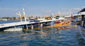 50 Persons Rescued From Submerged Motor Banca In Davao