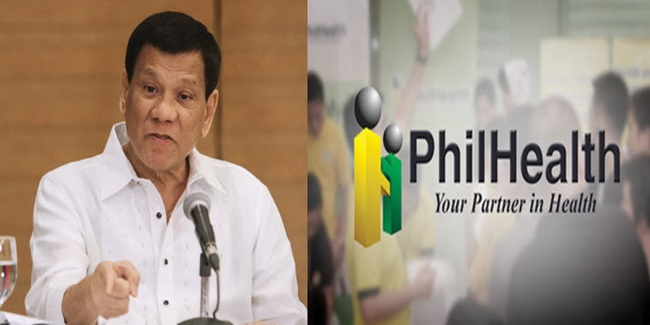 Duterte on Philhealth anomaly