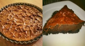 EASY DESSERT RECIPES: Simple Way To Do No-Bake Chocolate Tart