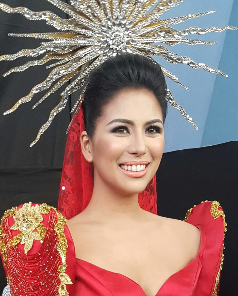 Miss World PH 2012 3rd princess April Love Jordan