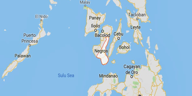 Foreigner Arrested Negros Oriental
